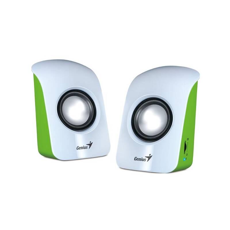 Reproduktory Genius SP-U115 2.0 (31731006103) bílé/zelené