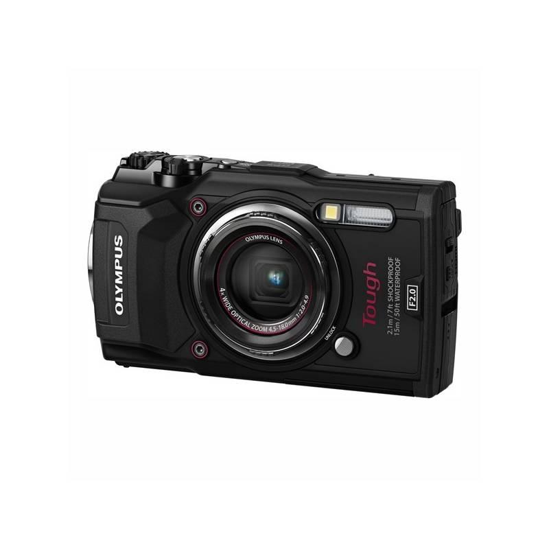 Digitální fotoaparát Olympus TG-5 (4545350051099) černý