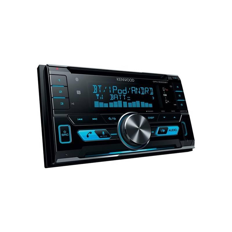 Autorádio s CD Kenwood DPX-5000BT (DPX-5000BT) čierna
