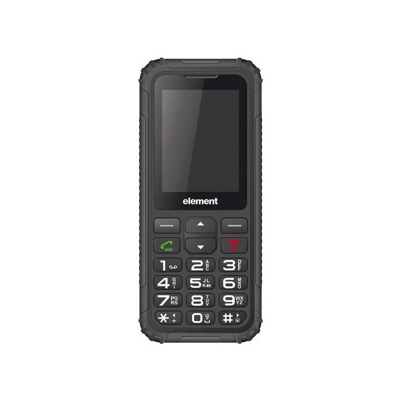 Mobilný telefón Sencor Element P007 RESISTANT (30015183) čierny Software F-Secure SAFE, 3 zařízení / 6 měsíců (zdarma)