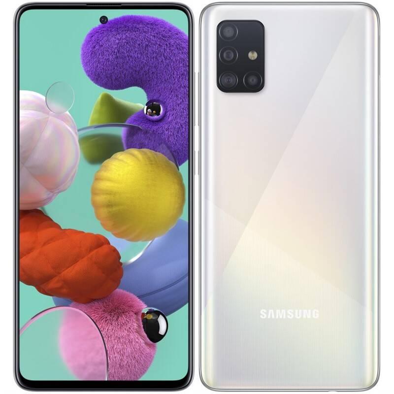Mobilný telefón Samsung Galaxy A51 (SM-A515FZWVEUE) biely + Doprava zadarmo