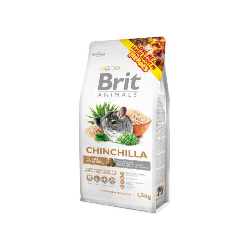 Krmivo Brit Animals Chinchila Complete 1,5kg