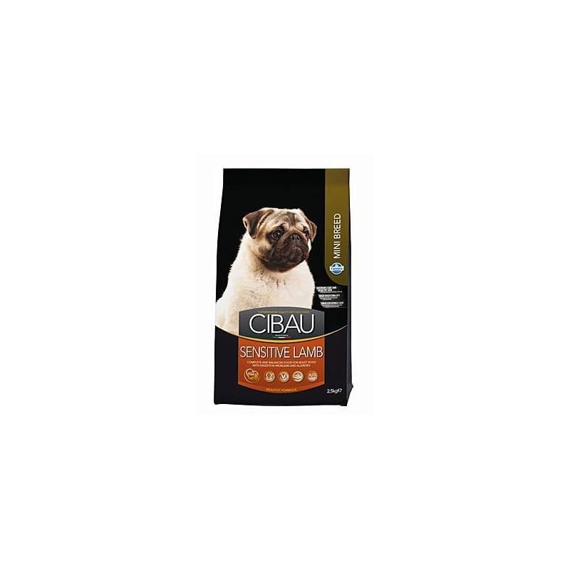 Granule Cibau Dog Adult Sensitive Lamb&Rice Mini 2,5 kg