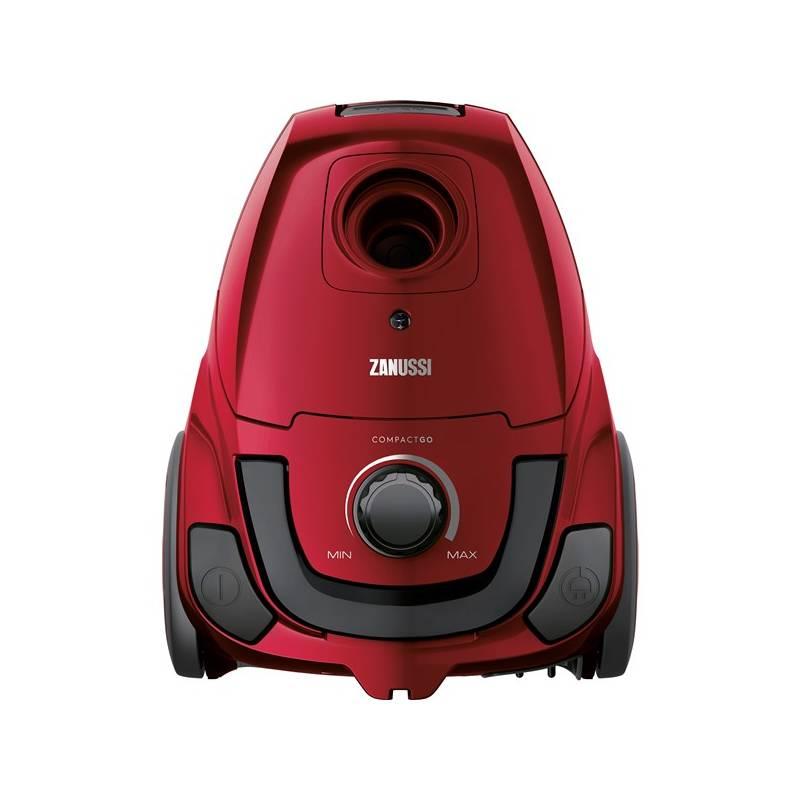 Vysávač podlahový Zanussi CompactGo ZANCG23WR červený