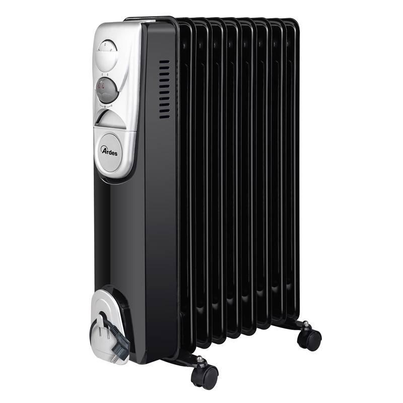 Olejový radiátor Ardes 4R09B čierny