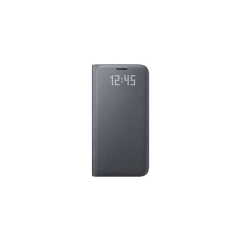 Puzdro na mobil flipové Samsung LED View pro Galaxy S7 (EF-NG930P) (EF-NG930PBEGWW) čierne