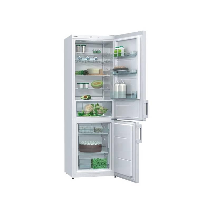 Kombinácia chladničky s mrazničkou Gorenje Essential RK6192AW biela + Doprava zadarmo
