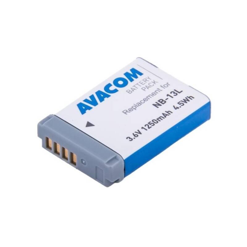 Akumulátor Avacom pro Canon NB-13L Li-Ion 3,6V 1250mAh (DICA-NB13-J1250)