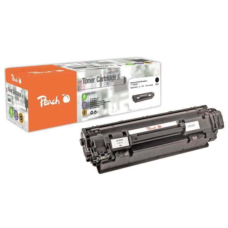 Toner Peach HP CB435A, No 35A, 1500 stran, kompatibilní (110222) čierny