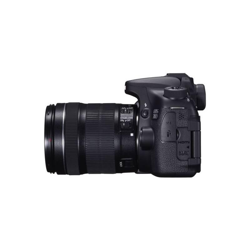 Digitálny fotoaparát Canon EOS EOS 70D + EF18-135 IS STM (8469B043) čierny + Doprava zadarmo