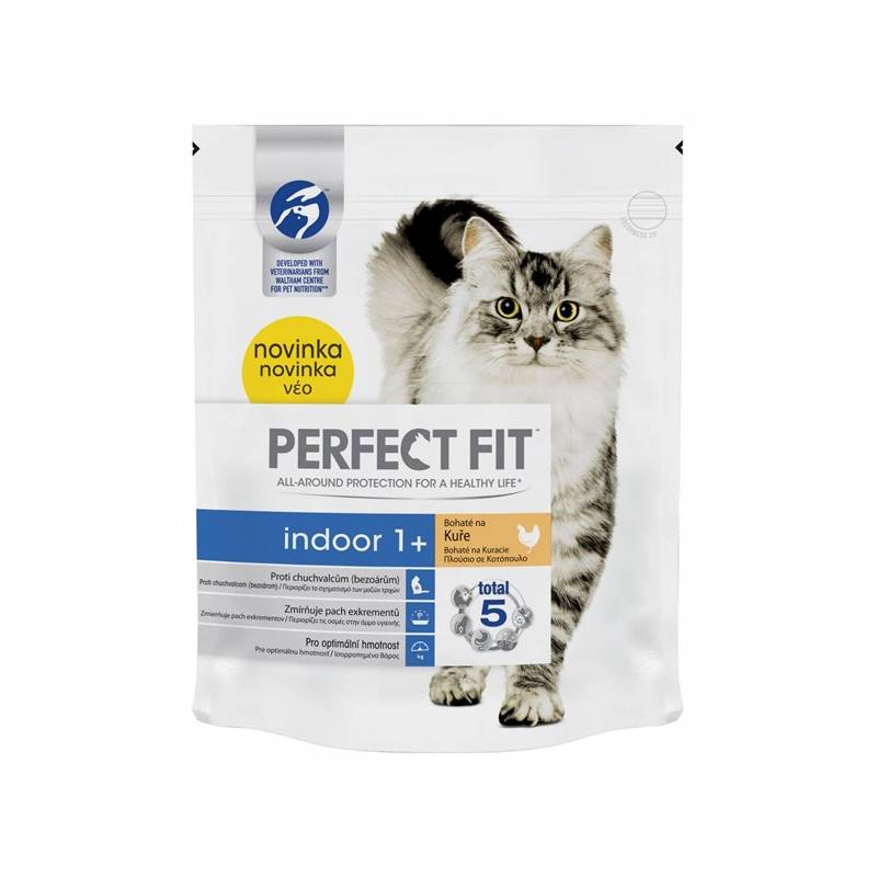 Granule Perfect Fit Cat Indoor s kuřecím 750g