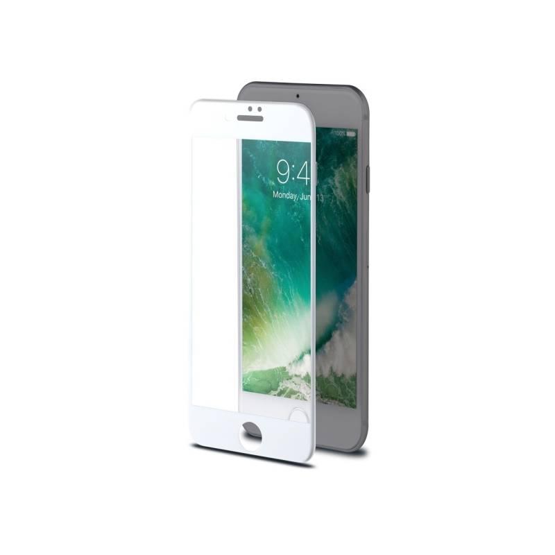 Ochranné sklo Celly 3D pro Apple iPhone 7/8 - bílé (3DGLASS800WH) biele
