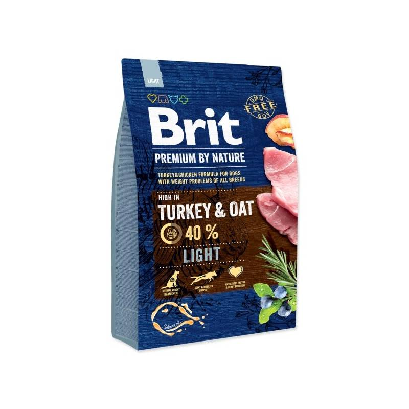 Granule Brit Premium Dog by Nature Light 3 kg
