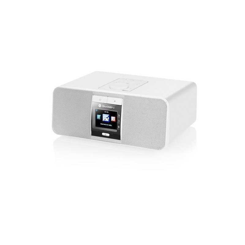 Internetový rádioprijímač GoGEN IR167BTW biely + Doprava zadarmo