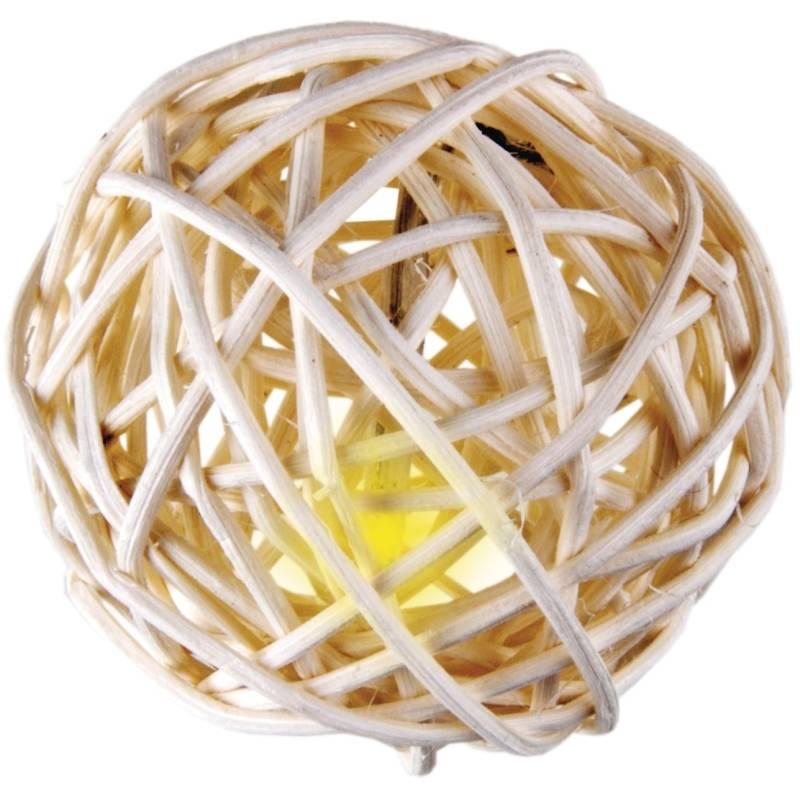 Vánoční osvětlení EMOS 16 LED, 3m, řetěz (koule), teplá bílá, vnitřní použití