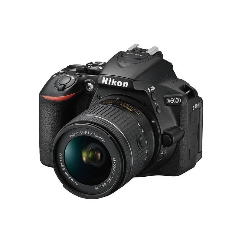 Digitálny fotoaparát Nikon D5600 + 18-55 AF-P VR (VBA500K001) čierny + Doprava zadarmo