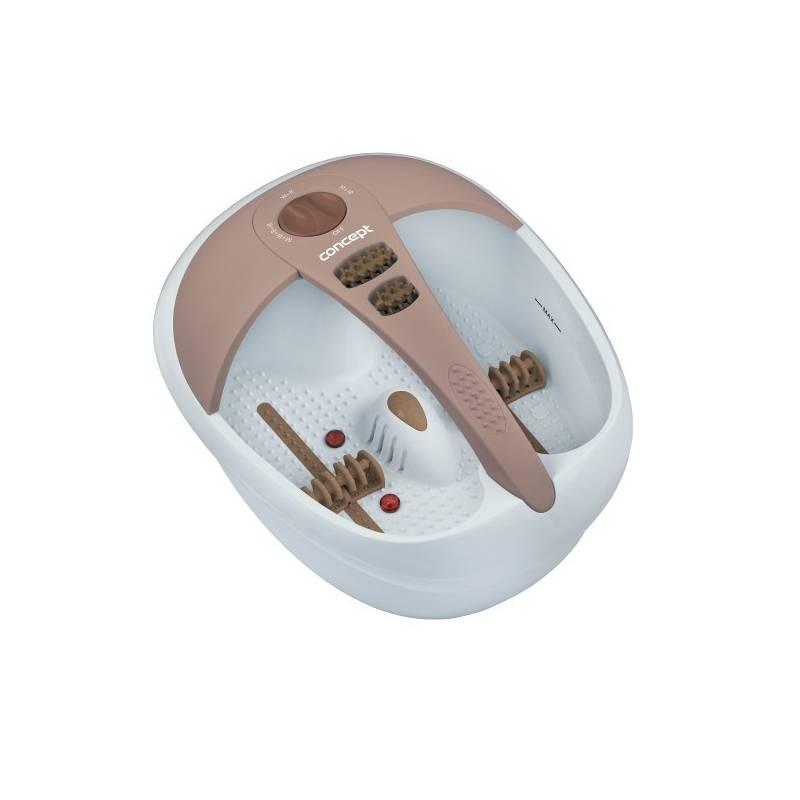 Masážny prístroj Concept MV-7140 biela/ružová