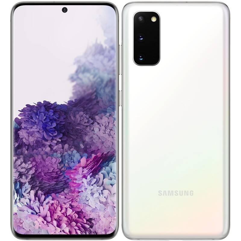 Mobilný telefón Samsung Galaxy S20 (SM-G980FZWDEUE) biely + Doprava zadarmo