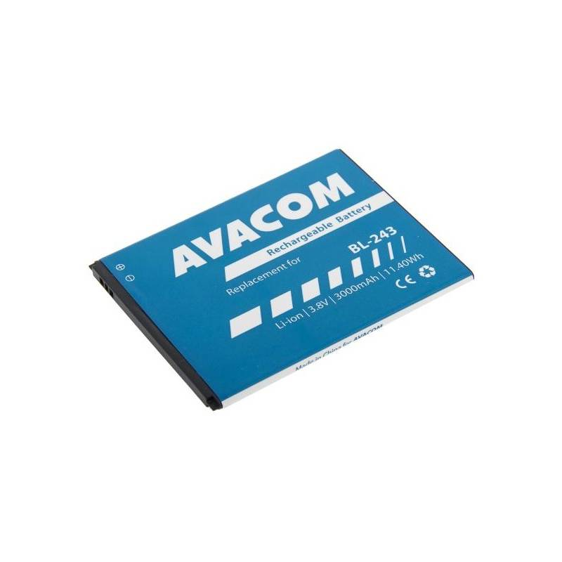 Baterie Avacom pro Lenovo A7000, Li-Ion 3,8V 3000mAh (náhrada BL243)