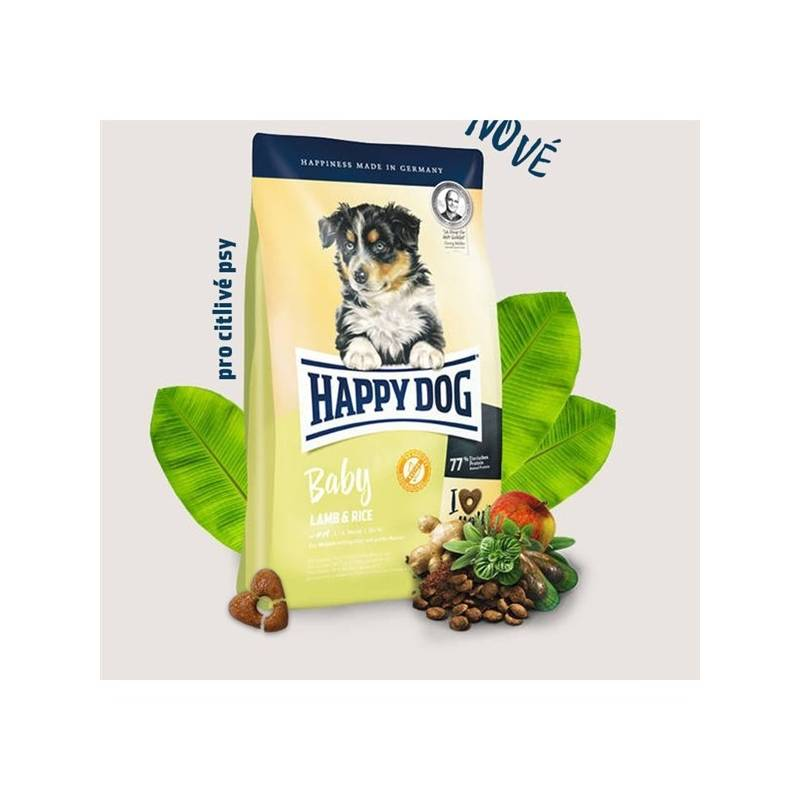 Granule HAPPY DOG Baby Lamb & Rice 18 kg