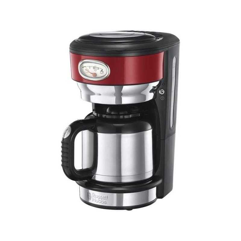 Kávovar RUSSELL HOBBS RETRO 21710-56 červený