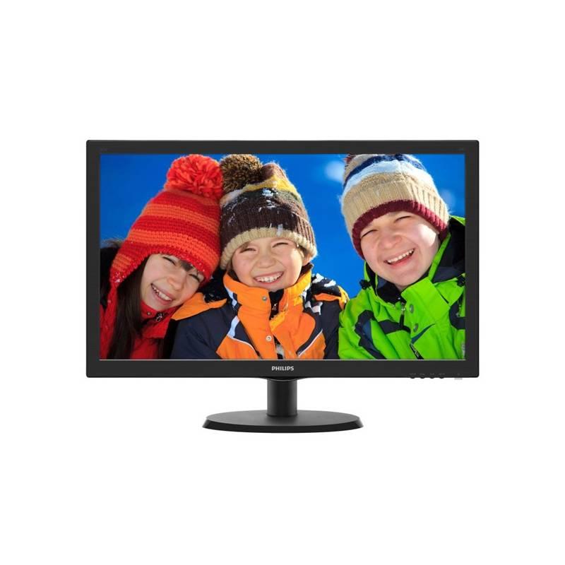 Monitor Philips 223V5LHSB2 (223V5LHSB2/00) čierny