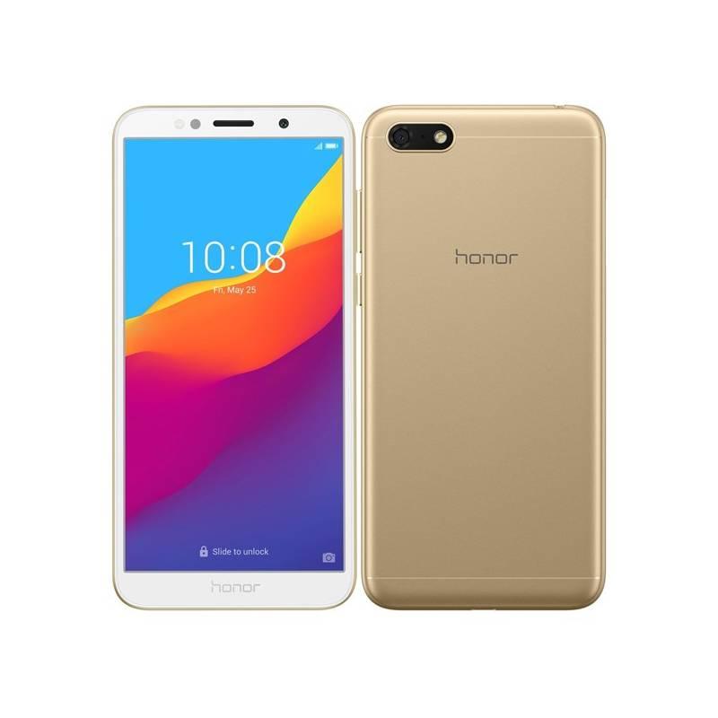 Mobilný telefón Honor 7S Dual SIM (51092QPG) zlatý Software F-Secure SAFE, 3 zařízení / 6 měsíců (zdarma)