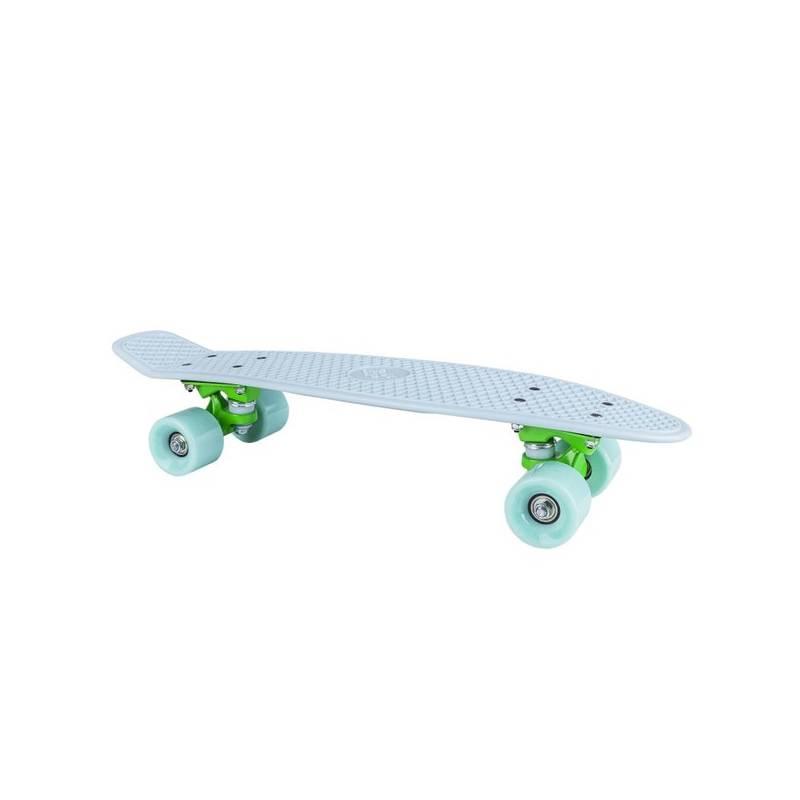 """Penny board Spokey CRUISER 22 x 6"""" 60 x 45 mm světle modrý, zelená kolečka + Doprava zadarmo"""
