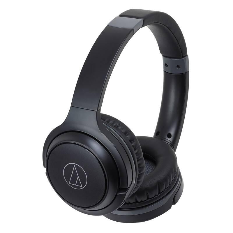 Slúchadlá Audio-technica ATH-S200BTBK (S200BTBK) čierna + Doprava zadarmo