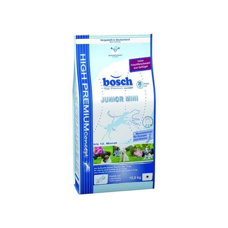 Granule Bosch Junior Mini 15 kg, pro štěňata malých plemen
