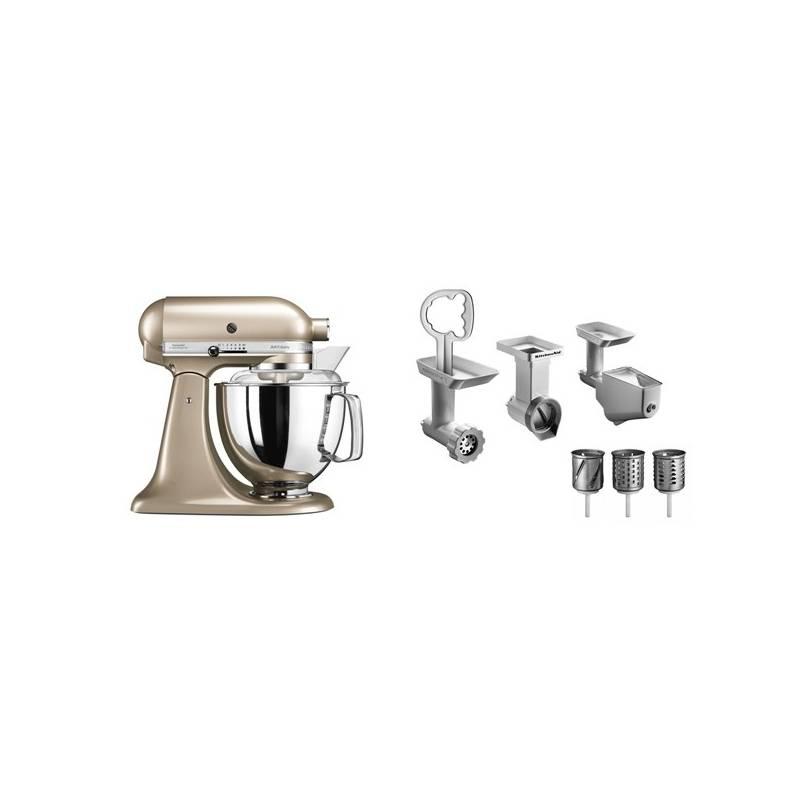 Set výrobkov KitchenAid 5KSM175PSECZ + FPPC + Doprava zadarmo