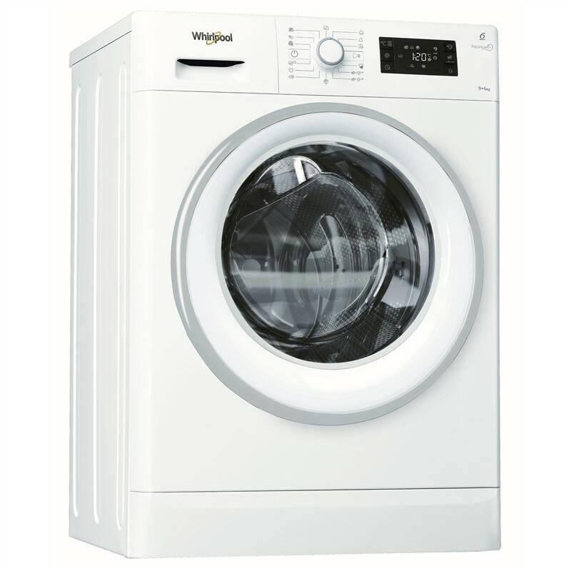 Pračka se sušičkou Whirlpool FreshCare+ FRESHCARE+ FWDG96148WS EU bílá