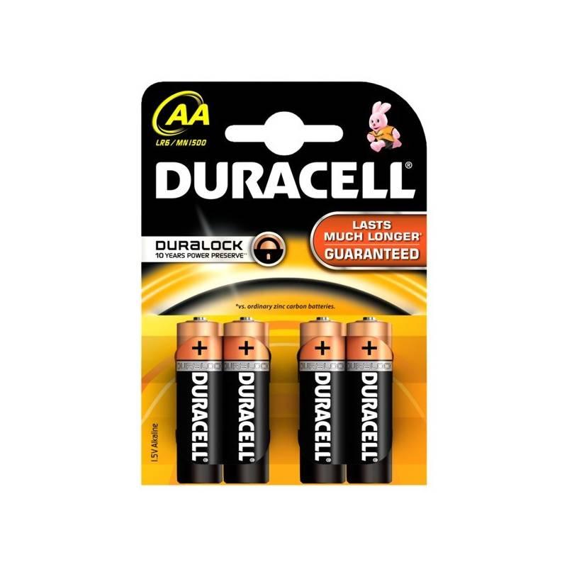 Batéria alkalická Duracell Basic AA 1500 K4 Duralock