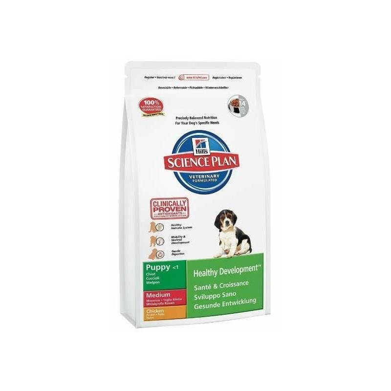Granule Hill's Canine Puppy Chicken, 3 kg