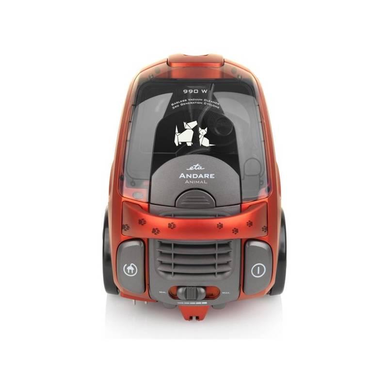 Vysávač podlahový ETA Andare Animal 1493 90010 červený + Doprava zadarmo