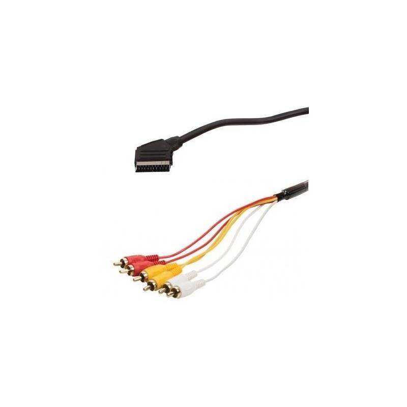 Kabel AQ SCART / 6x CINCH, 1,5 m (xaqcv21015)