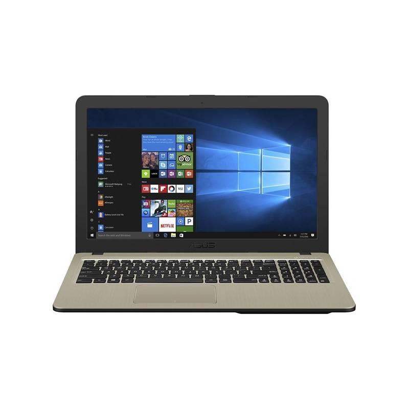 Notebook Asus X540UA-GQ010 (X540UA-GQ010) čierny Software F-Secure SAFE, 3 zařízení / 6 měsíců (zdarma) + Doprava zadarmo