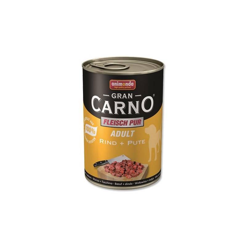 Konzerva Animonda Adult Gran Carno Plus hovězí + krocan 400g
