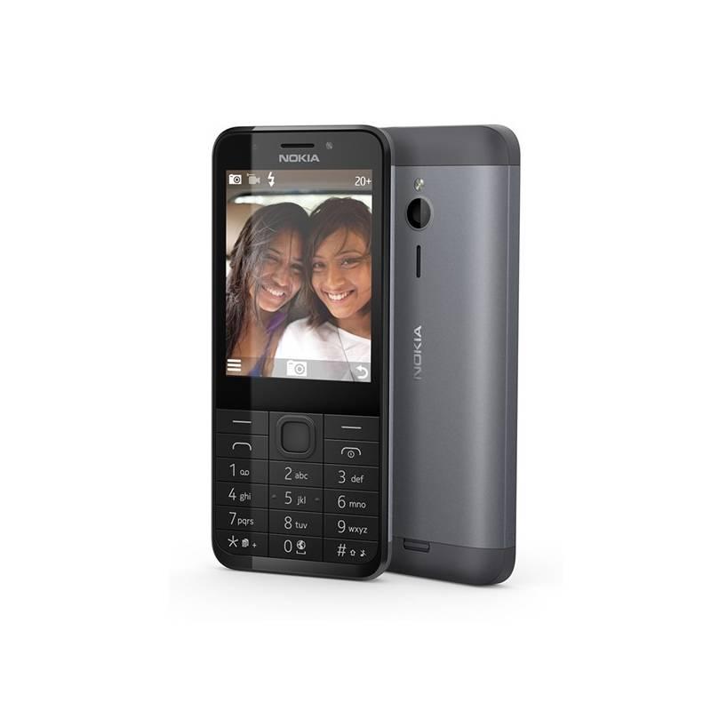 Mobilný telefón Nokia 230 Single SIM (A00027221) čierny