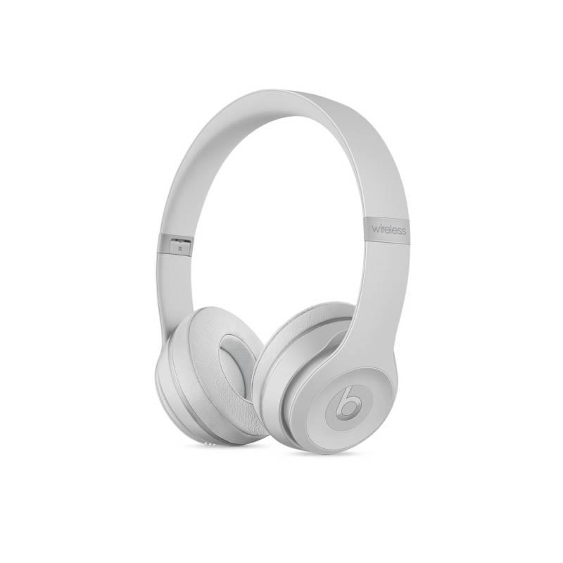 Slúchadlá Beats Solo3 Wireless - matně stříbrná (MR3T2ZM/A)