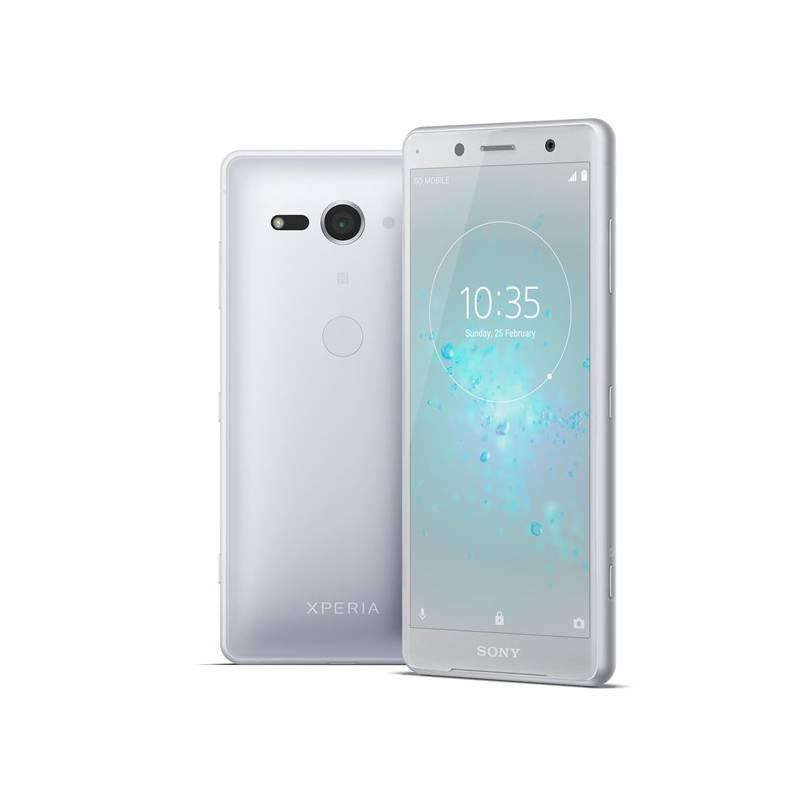Mobilný telefón Sony Xperia XZ2 Compact (1313-8384) strieborný Software F-Secure SAFE, 3 zařízení / 6 měsíců (zdarma) + Doprava zadarmo