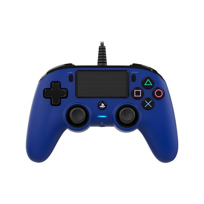 Gamepad Nacon Wired Compact Controller pro PS4 (ps4hwnaconwccblue) modrý