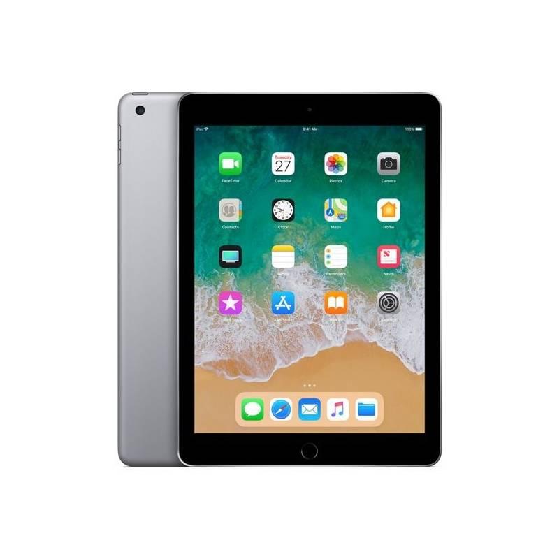 Tablet Apple iPad (2018) Wi-Fi 128 GB - Space Gray (MR7J2FD/A) + Doprava zadarmo