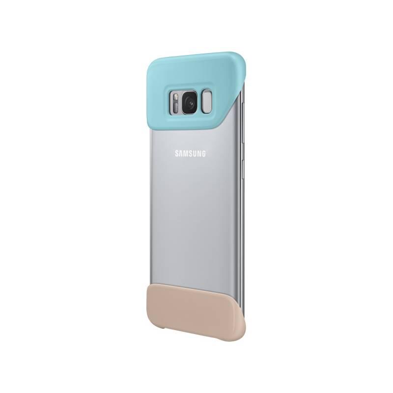 Kryt na mobil Samsung 2 dílný pro Galaxy S8+ (EF-MG955C) (EF-MG955CMEGWW) tyrkysový