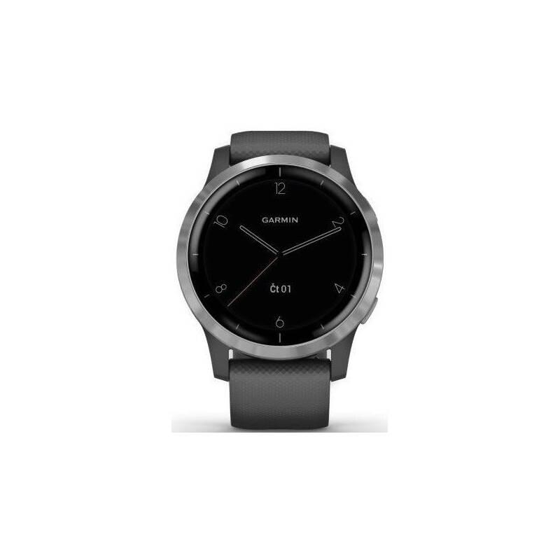 GPS hodinky Garmin vívoactive4 Silver/Gray (010-02174-03)
