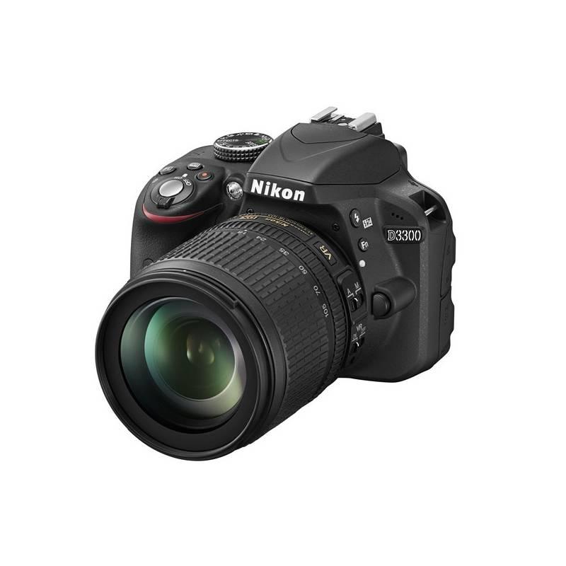 Digitálny fotoaparát Nikon D3300 + 18-105 AF-S DX VR čierny + Doprava zadarmo