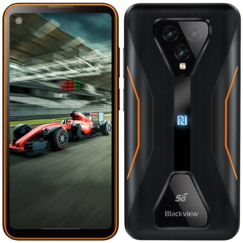 Mobilný telefón iGET Blackview GBL5000 (84008057) oranžový + Doprava zadarmo