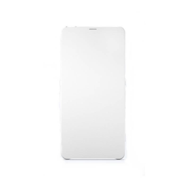 Púzdro na mobil flipové Sony SCR52 na Xperia X (1301-5836) biele