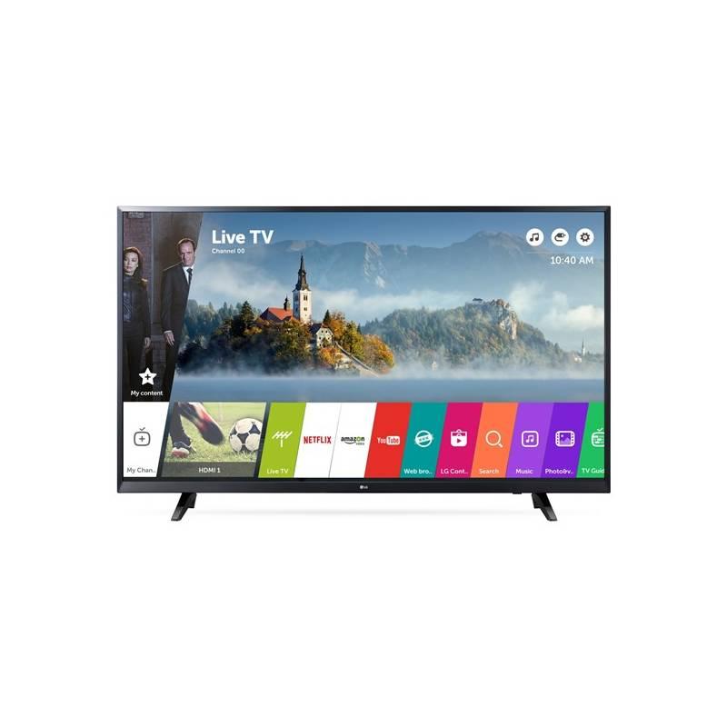 Televízor LG 43UJ620V čierna + Doprava zadarmo