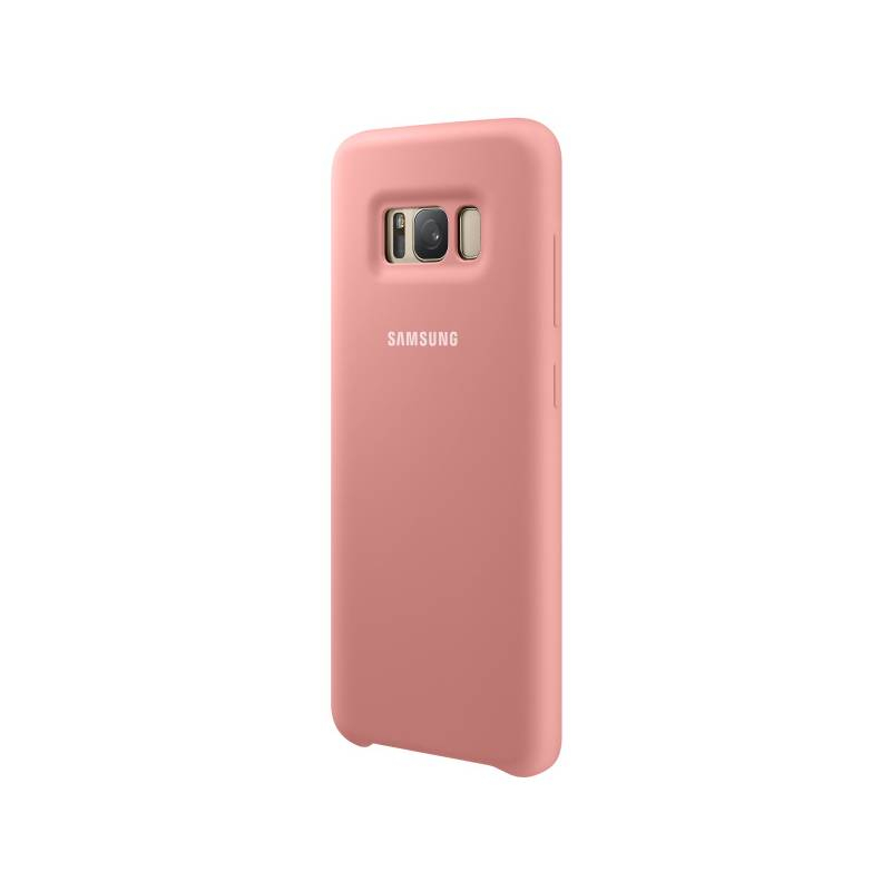 Kryt na mobil Samsung Silicone Cover pro Galaxy S8 (EF-PG950TPEGWW) ružový